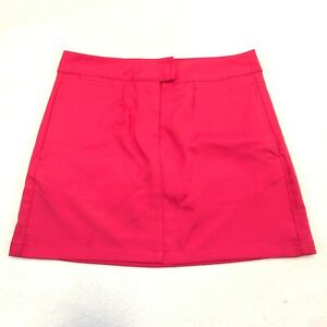 Puma Women's Solid Tech Dry Cell Athletic Golf Skirt Skort Raspberry Pink Size 6