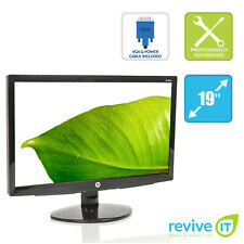 "HP S1933 19"" Widescreen 1366x768 16:9 5ms TN TFT LCD Monitor VGA - Grade A"