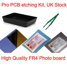 PCB Placa Grabado Grabado Foto Profesional Set Kit New Reino Unido stock Simple