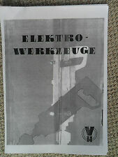 Handbohrmaschine Bohrmaschine Bohrständer Schleifscheiben Schleifmaschinen DDR