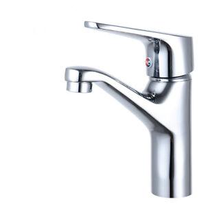Bad Wasserhahn Waschtisch Waschbecken Mischbatterie, Modern Messing Verchromt