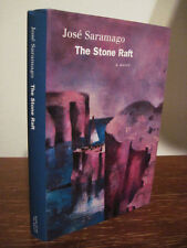 1st Edition THE STONE RAFT Jose Saramago NOBEL PRIZE First Printing FICTION Rare