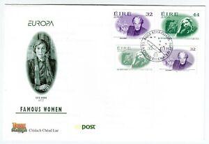 Ireland 1996 FDC Famous Women - Gummed & SA