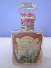 RARE Vintage Grossmith  'Floreal Lilac' Perfume Bottle And Box