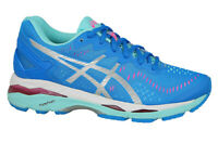Asics GEL-Kayano 23 Blue Women Stability Pronation Running Shoes Size T696N-4393