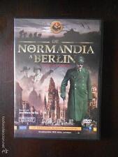 DVD DE NORMANDIA A BERLIN - LA SEGUNDA GUERRA MUNDIAL - COMO NUEVA (6M)