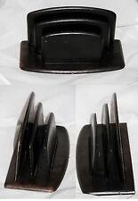 Porte-lettres ancien trieuse bureau cuir Le Tanneur Vintage Letter Rack Leather