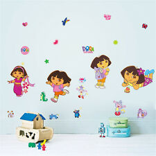 Dora the explorer enfants fille nursery chambre wall stickers decals decor uk