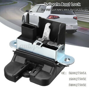 Serrure de Hayon Coffre Arrière pour VW Golf V VI Polo Passat Touran 5K0827505A