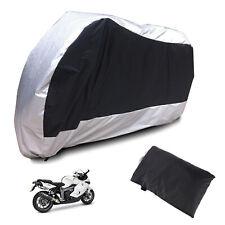 XL Motorbike Motorcycle Covers Heatproof WaterProof Breathable Outdoor Strip