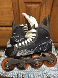 Mission Inhaler NLS6 Inline Roller Skates Size 6E Men US shoe Sz 7.5 (women 8.5)
