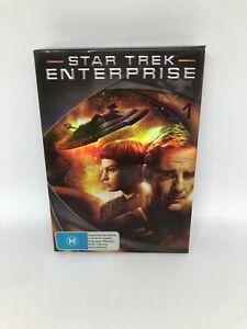 ENTERPRISE Star Trek Season One Box Set DVD Region 4 Sci Fi Very Good Condition