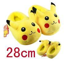 NEW Pokemon Go Pikachu Stuffed Slippers Plush Shoes Soft Warm Home Slipper #1