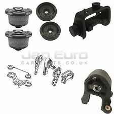 FOR HONDA CRV 6PC 02-06 FRONT REAR DIFF DIFFERENTIAL SUPPORT MOUNT DAMPER BUSHES