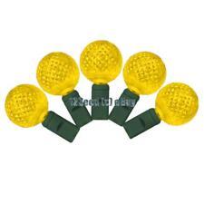 G25 Yellow LED Lights - Christmas Lights