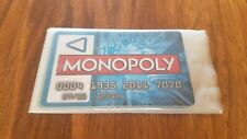 Monopoly Zapped Spare/Replacement 4 X Touch-Banking Cards - Brand New & Sealed