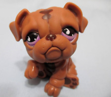 Littlest Pet Shop Dog Bulldog 881 Lps Authentic