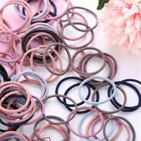 100Pcs Baby Girls Infant Toddler Hair Bands Tie Rope Ponytail Hair Accessories