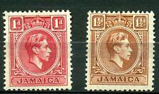 Jamaica 1938, George VI, SG# 122-123, MH 2025