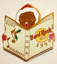 Hard Rock Cafe Collectors Pin Kona Happy Holidays Caroler New LE 1999