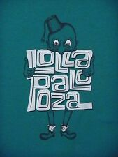 Lollapalooza 2012 Music Festival SHIRT small Bands Listed Grant Park Chicago