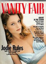 1994 Vanity Fair May - Barbie is 35 years old; Jodie Foster; Jerry Seinfeld;