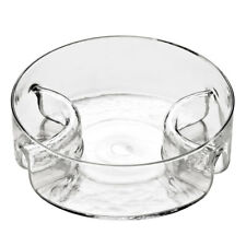 Serving Dish, Glass, 3 Section