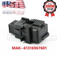 NEW Brake Light Switch For BMW E38 E39 E46 E53 X5 E65 E66 61316967601 BLACK USA