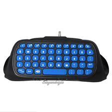 Bluetooth Wireless Keyboard Chatpad for Sony PlayStation PS4/PS4 Slim Controller