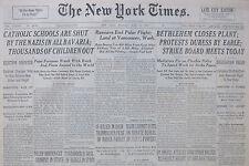 6-1937 June 21 SANTANDER IS GOAL OF REBELS IN SPAIN CIVIL WAR. TROOPS IN BILBAO