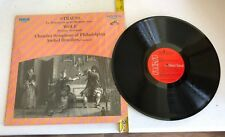 LP: Philadelphia Chamber Symphony ANSHEL BRUSILOW Strauss & Wolf RCA Red Seal