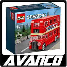 LEGO Creator London Bus 40220 Red Mini Double Decker Promo BRAND NEW SEALED