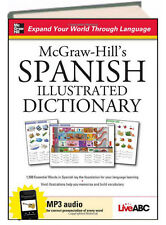 McGraw-Hill Dictionary McGraw-Hill's Spanish Illustrated Dictionary (Hardcover)