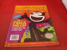Nintendo Power Volume 40 Felix the Cat Cover w/ Attached Spider-man Poster #C1