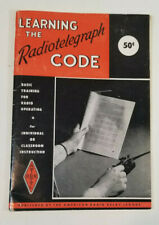 Vintage 1968 Learning the Radiotelegraph Code Book Booklet Manual
