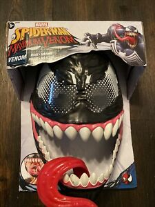 Marvel Spiderman Maximum Venom Mask VHTF Spider-man Cosplay New!!