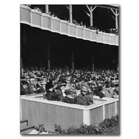 "*Postcard-""President's Box Seats...@ Polo Grounds- *NY"