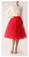 5 layers Maxi Long Tulle Skirt Celebrity Skirts Womens Adult Tutu Ball Gown