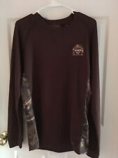 New With Tags Men's Mossy Oak Performance Pattern Thermal Crew L/S Shirt Size M