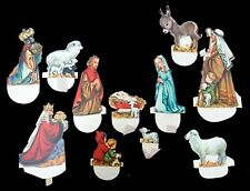 Pop up Christmas Nativity Scene, c1950