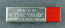 Red Top Eversharp Leads, 12 Grade 4H Leads in each Container -- NOS