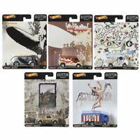 Hot Wheels Premium Pop Culture 2020 - Led Zeppelin Set of 5 - Mattel - In Stock