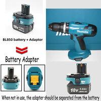 USB Akku Adapter Tool für Makita 18VBL18 Li-Ion Akku auf Makita18V Ni-Cd Ni-MH