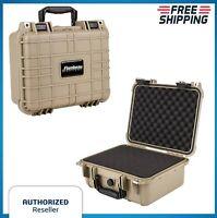 2 Gun Hard Carry Case Two Pistol Padded Handgun Storage TSA Locking Waterproof