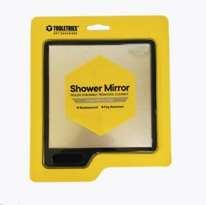 Tooletries The Oliver Silicone Waterproof Mighty Mirror Charcoal/Black New