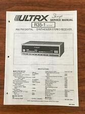 Sanyo / ULTRX R35-1 / R-35-1 RECEIVER Service Manual *Original*
