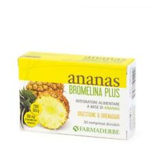 Ananas Bromelina Plus Farmaderbe - 30 Compresse