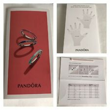 PANDORA FINGER MEASURE AND SIZE GUIDE BRAND NEW