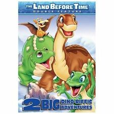 Land Before Time: 2 Big Dino-Riffic Adventures (DVD, 2006) Double Feature