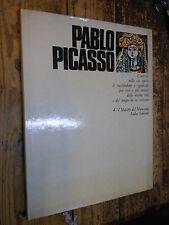 Pablo Picasso I Maestri del Novecento Sadea Sansoni 1969 L5